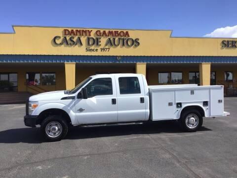 2011 Ford F-250 Super Duty for sale at CASA DE AUTOS, INC in Las Cruces NM
