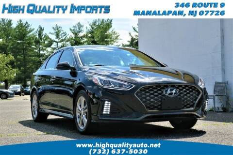 2018 Hyundai Sonata for sale at High Quality Imports in Manalapan NJ