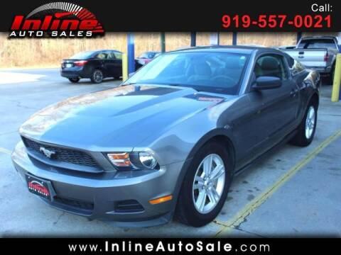 2011 Ford Mustang for sale at Inline Auto Sales in Fuquay Varina NC