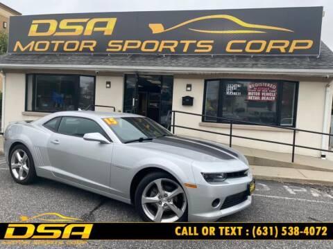 2015 Chevrolet Camaro for sale at DSA Motor Sports Corp in Commack NY