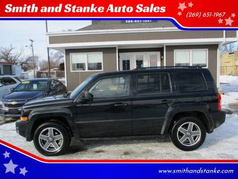 2009 Jeep Patriot for sale at Smith and Stanke Auto Sales in Sturgis MI
