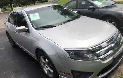 2010 Ford Fusion for sale at Klein on Vine in Cincinnati OH