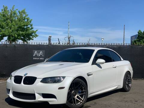 2011 BMW M3 for sale at AutoAffari LLC in Sacramento CA