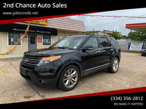 2013 Ford Explorer for sale at 2nd Chance Auto Sales in Montgomery AL