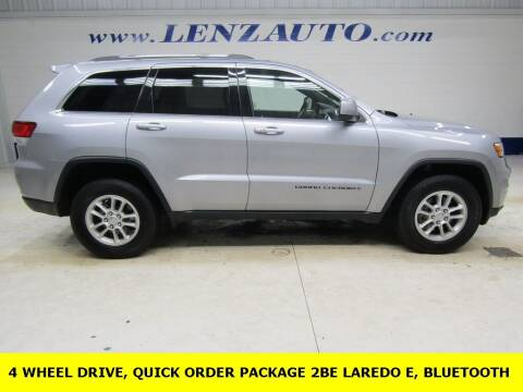 2020 Jeep Grand Cherokee for sale at LENZ TRUCK CENTER in Fond Du Lac WI