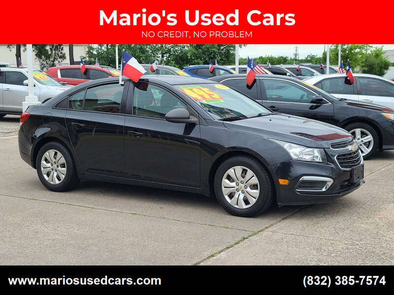 2016 Chevrolet Cruze Limited for sale at Mario's Used Cars in Houston TX