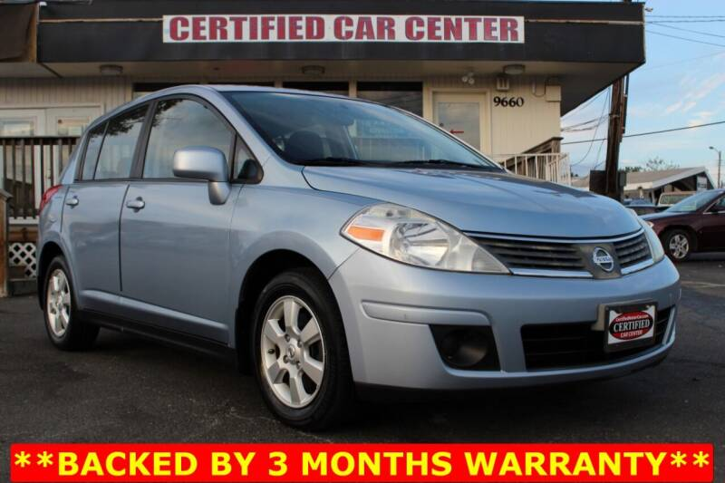 2009 Nissan Versa for sale at CERTIFIED CAR CENTER in Fairfax VA