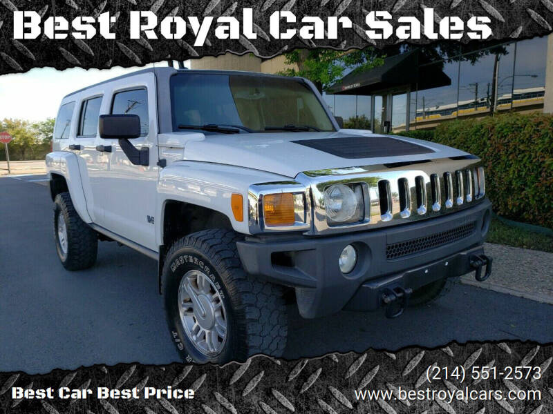 2007 HUMMER H3 for sale at Best Royal Car Sales in Dallas TX