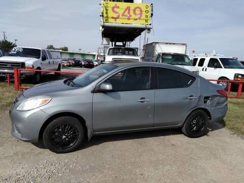 2012 Nissan Versa for sale at USA Auto Sales in Dallas TX