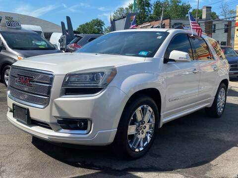 2013 GMC Acadia for sale at White River Auto Sales in New Rochelle NY