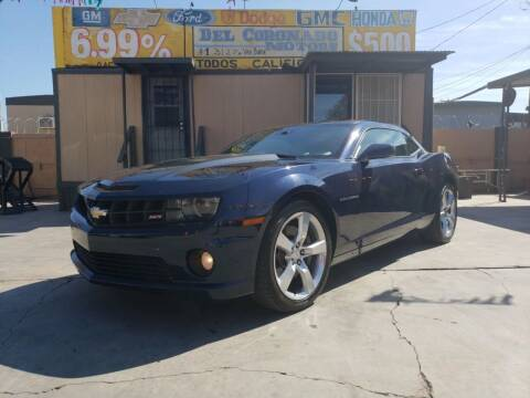 2010 Chevrolet Camaro for sale at DEL CORONADO MOTORS in Phoenix AZ