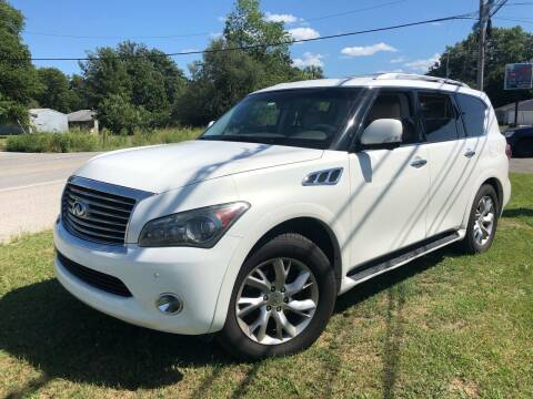 2012 Infiniti QX56 for sale at Wise Investments Auto Sales in Sellersburg IN