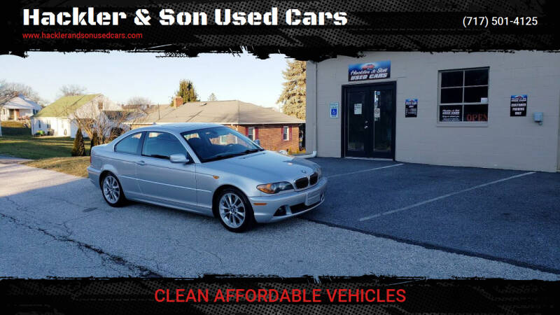 2004 BMW 3 Series for sale at Hackler & Son Used Cars in Red Lion PA