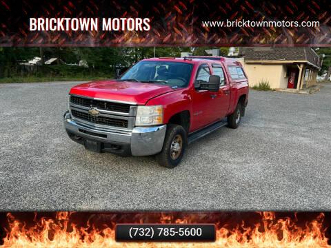 2009 Chevrolet Silverado 2500HD for sale at Bricktown Motors in Brick NJ