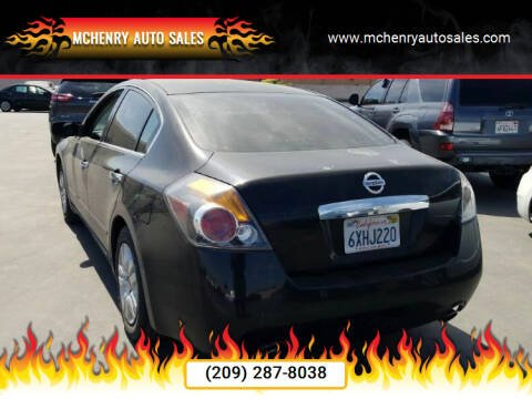 2012 Nissan Altima for sale at McHenry Auto Sales in Modesto CA