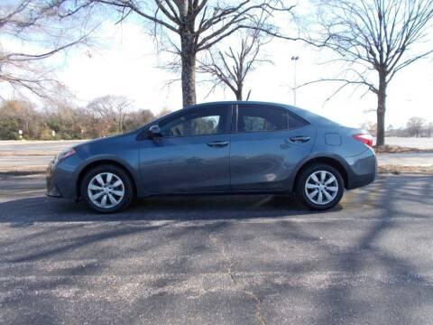 2014 Toyota Corolla for sale at A & P Automotive in Montgomery AL