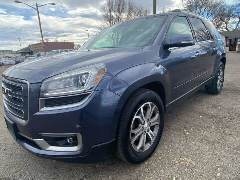 2013 GMC Acadia for sale at Martinez Cars, Inc. in Lakewood CO