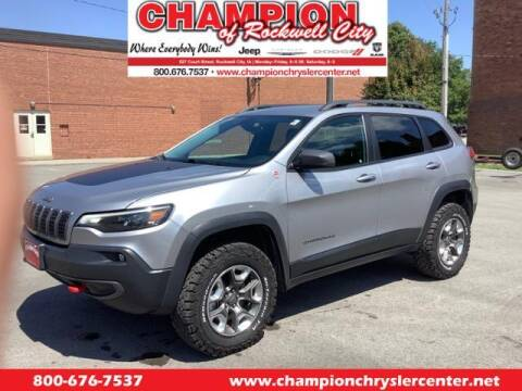 2019 Jeep Cherokee for sale at CHAMPION CHRYSLER CENTER in Rockwell City IA