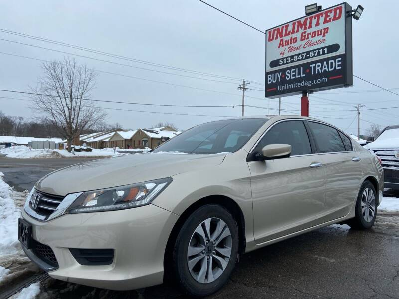 2014 Honda Accord for sale at Unlimited Auto Group in West Chester OH