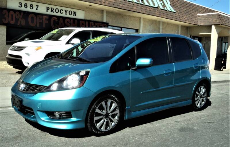 2012 Honda Fit for sale at DESERT AUTO TRADER in Las Vegas NV