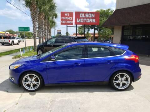 2015 Ford Focus for sale at Olson Motors LLC in Saint Augustine FL