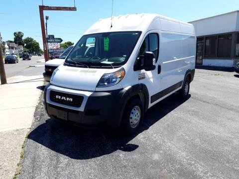 2019 RAM ProMaster Cargo for sale at Automotive Fleet Sales in Lemoyne PA