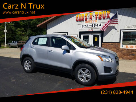 2016 Chevrolet Trax for sale at Carz N Trux in Twin Lake MI