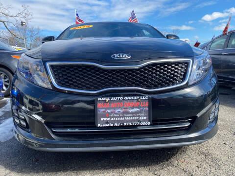 2015 Kia Optima for sale at Nasa Auto Group LLC in Passaic NJ