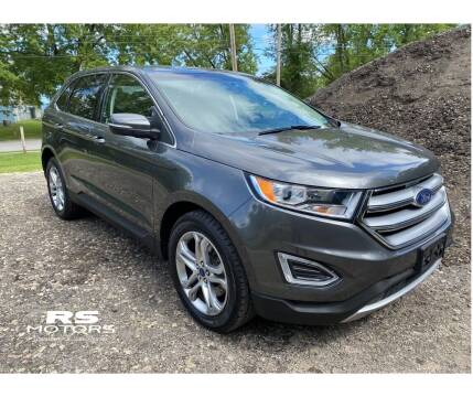 2017 Ford Edge for sale at RS Motors in Falconer NY