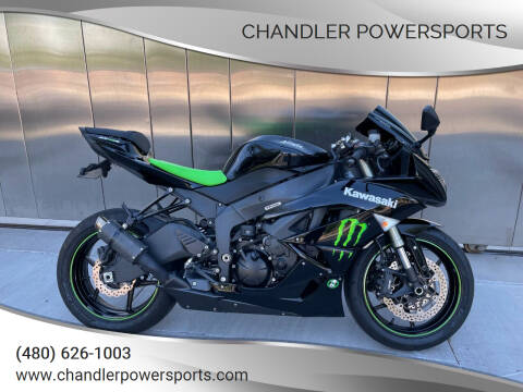 2009 Kawasaki Ninja ZX-6R for sale at Chandler Powersports in Chandler AZ