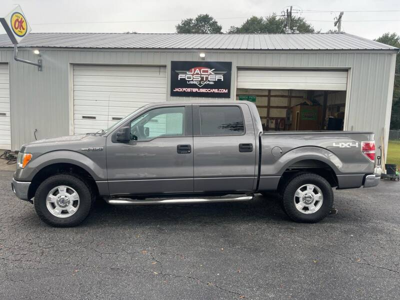 2013 Ford F-150 for sale at Jack Foster Used Cars LLC in Honea Path SC