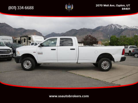 2013 RAM Ram Pickup 2500 for sale at S S Auto Brokers in Ogden UT