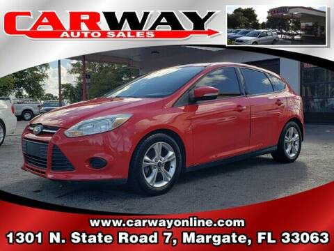 2014 Ford Focus for sale at CARWAY Auto Sales in Margate FL