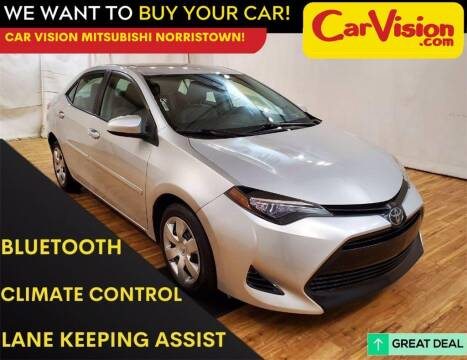 2017 Toyota Corolla for sale at Car Vision Mitsubishi Norristown in Trooper PA