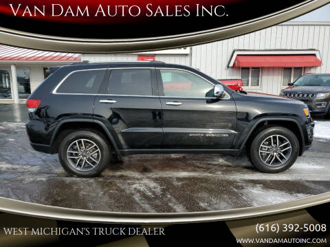 2020 Jeep Grand Cherokee for sale at Van Dam Auto Sales Inc. in Holland MI