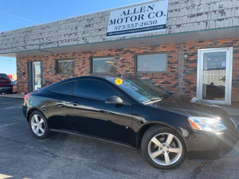 2008 Pontiac G6 for sale at Allen Motor Company in Eldon MO