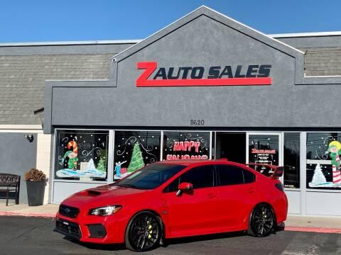 2018 Subaru WRX for sale at Z Auto Sales in Boise ID