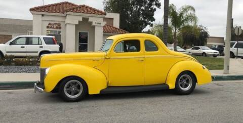 1940 Ford Deluxe for sale at Classic Car Deals in Cadillac MI