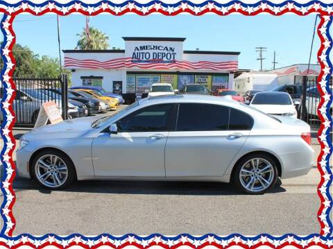 2013 BMW 7 Series for sale at American Auto Depot in Modesto CA