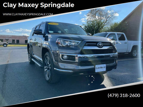 2020 Toyota 4Runner for sale at Clay Maxey Springdale in Springdale AR