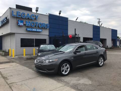 2015 Ford Taurus for sale at Legacy Motors in Detroit MI