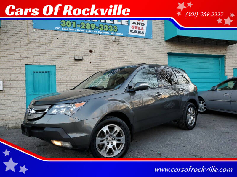 2007 Acura MDX for sale at Cars Of Rockville in Rockville MD
