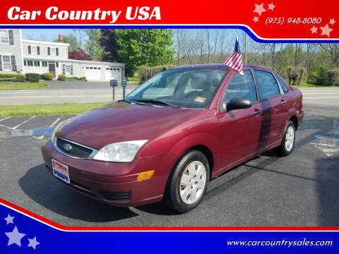 2007 Ford Focus for sale at Car Country USA in Augusta NJ