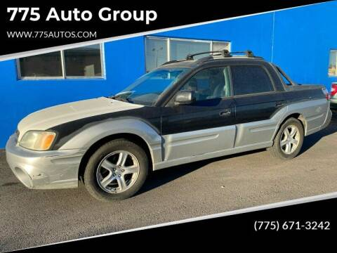 2003 Subaru Baja for sale at City Auto Sales in Sparks NV