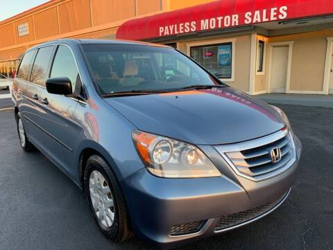 2010 Honda Odyssey for sale at Payless Motor Sales LLC in Burlington NC