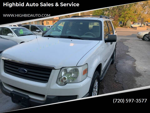 2006 Ford Explorer for sale at Highbid Auto Sales & Service in Arvada CO