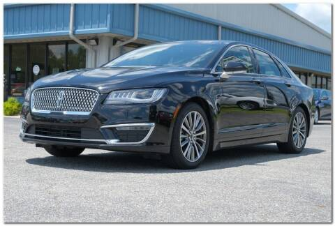 2020 Lincoln MKZ for sale at STRICKLAND AUTO GROUP INC in Ahoskie NC