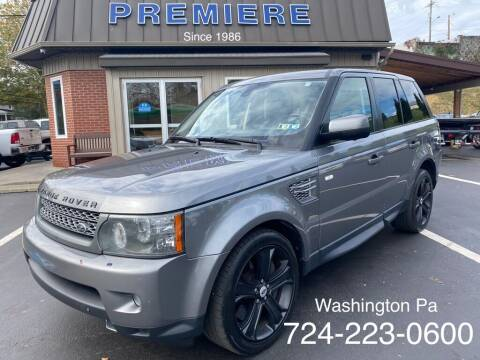 2011 Land Rover Range Rover Sport for sale at Premiere Auto Sales in Washington PA