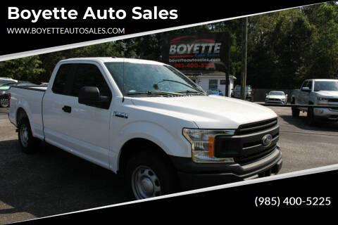 2019 Ford F-150 for sale at Auto Group South - Boyette Auto Sales in Covington LA