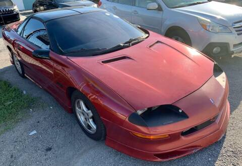 1997 Chevrolet Camaro for sale at Naber Auto Trading in Hollywood FL
